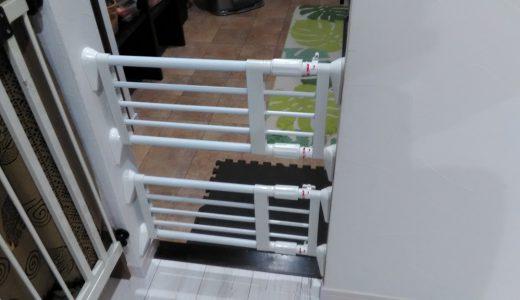幅が狭い入口の子供ゲートの紹介